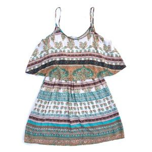 Altar'd State Multicolor Color Tribal Boho Dress